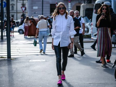 Olivia Palermo with a Sports Look