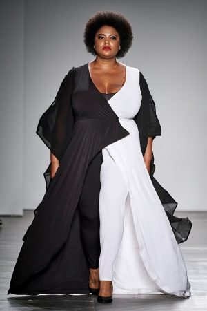 Looks by designer Rene Tyler at New York Fashion Week 2020.