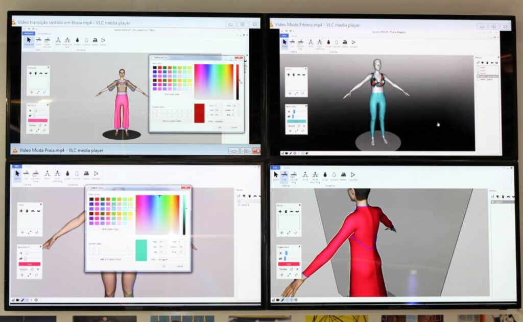 How to create fashion sketches directly on the computer