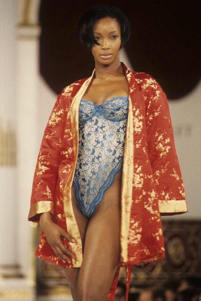 Beverly Peele at the first Victoria's Secret Fashion Show